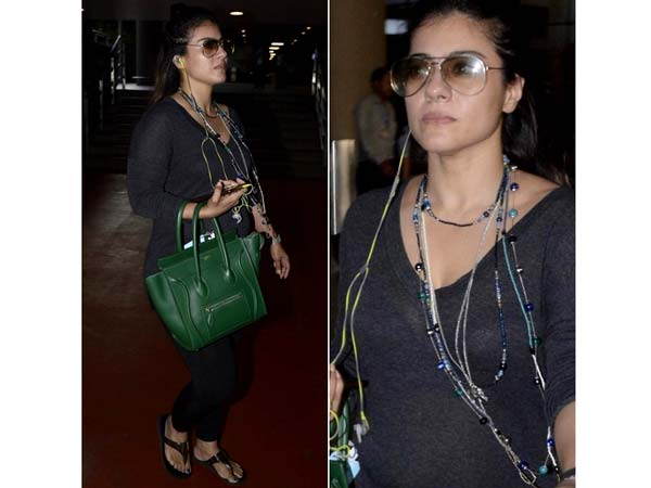 Kajol Airport Look