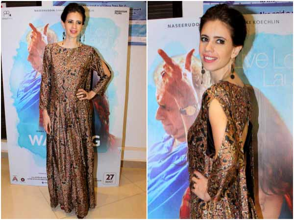 Kalki koechlin in her fashionable best at cannes