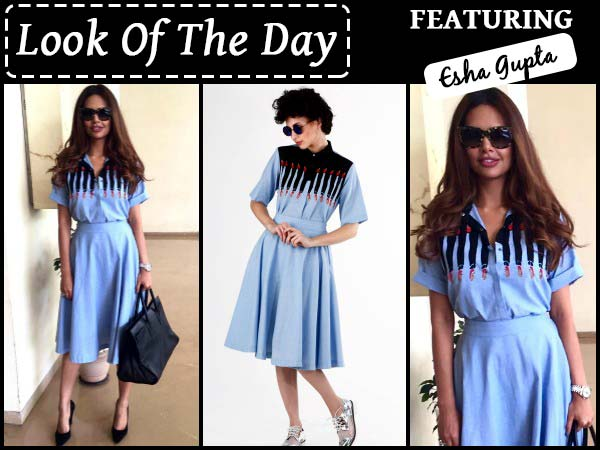 look of the day esha gupta