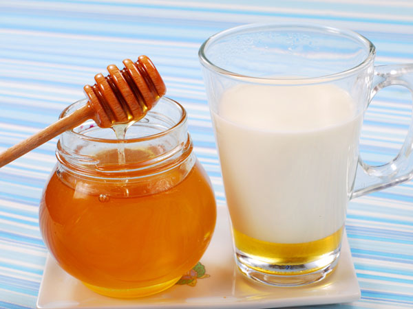 milk and honey to cure cough