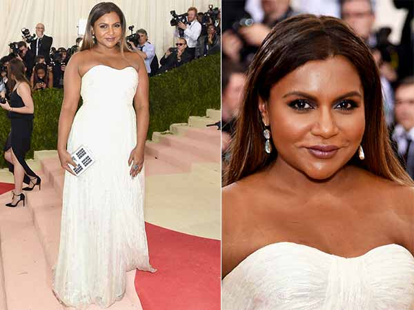 Mindy Kaling In Tony Burch