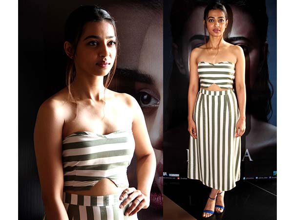 radhika apte in stripes