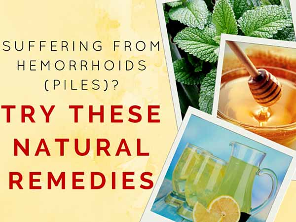 effective natural remedies for piles