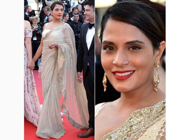 richa at cannes