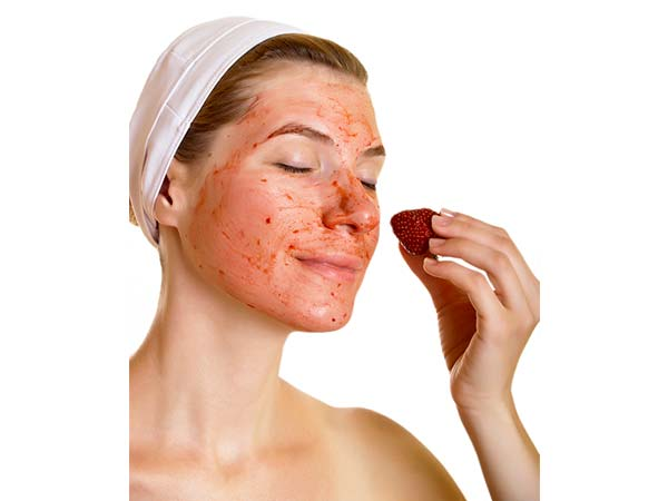 Strawberry Scrub: