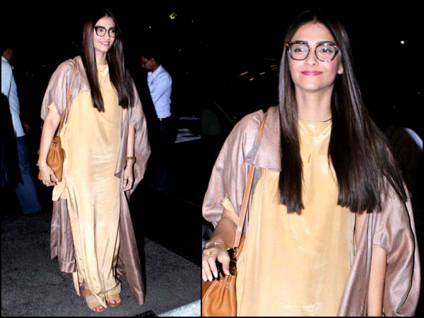 Sonam's travel look