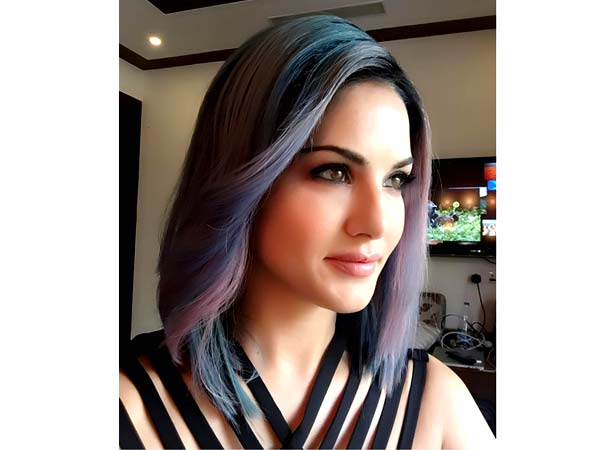 sunny leone hairstyle