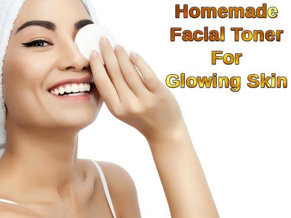 Homemade Natural Facial Toner For A Glowing Skin