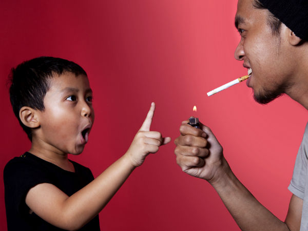 how to stop children smoking and drinking