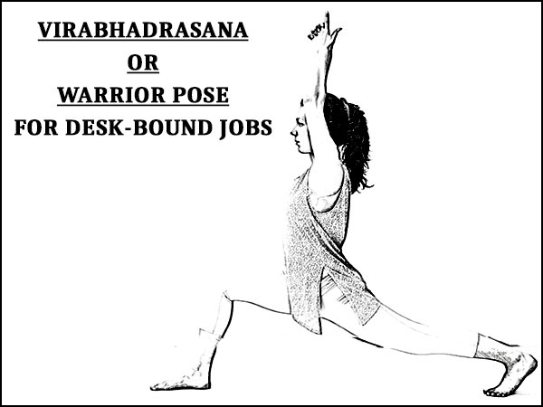 warrior pose