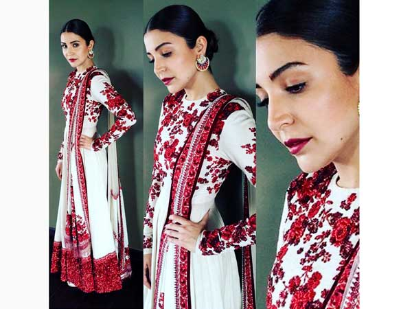 Anushka sharma 39 s elegance grace in indian wear is giving - Anushka sharma sultan images ...