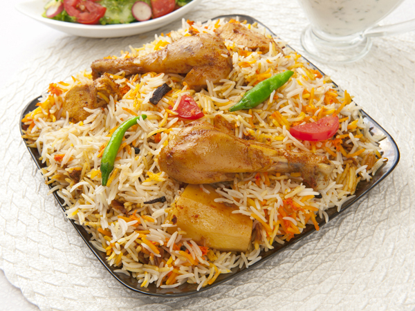 Chicken and aloo biryani recipe