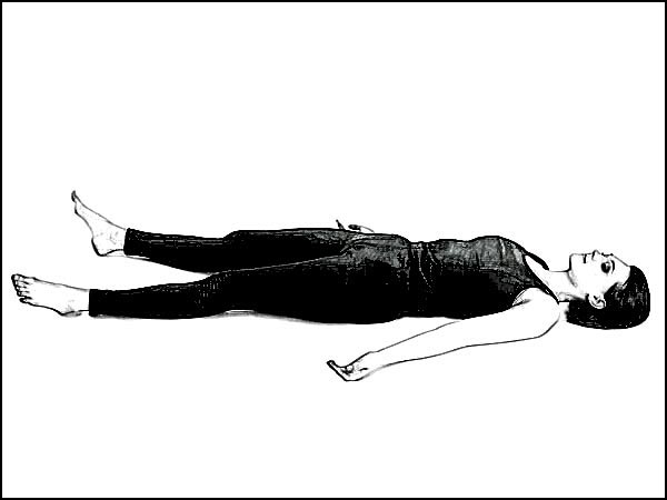 Matsyasana To Relieve Tension In Neck & Shoulders