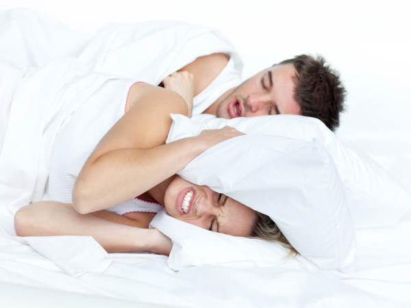 Homemade remedy for snoring