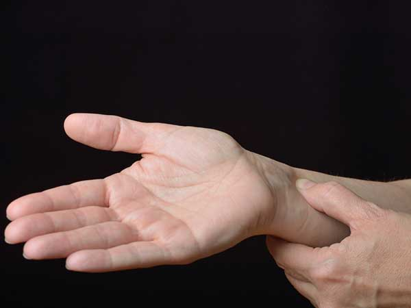 Acupressure point for nausea