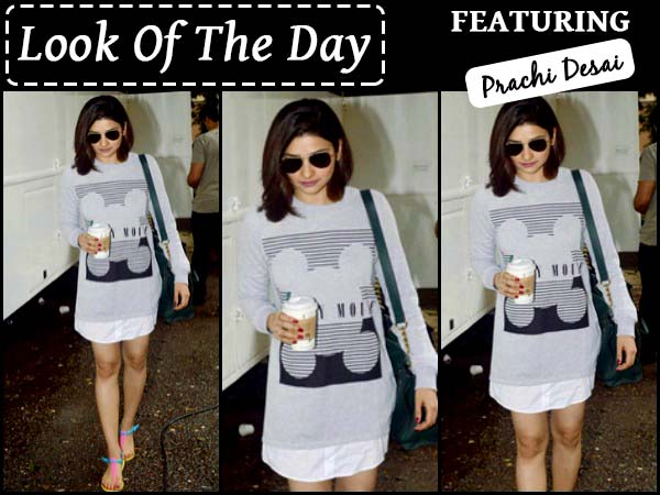 Look Of The Day: Prachi Desai In Casual Outfit To Make Your Tuesday!