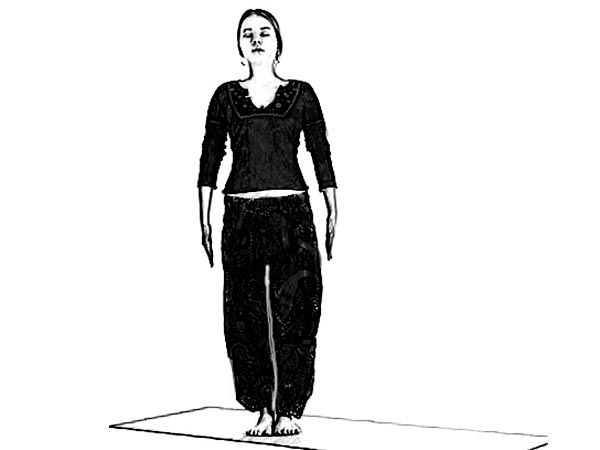 Vrksasana For Curing Low Blood Pressure