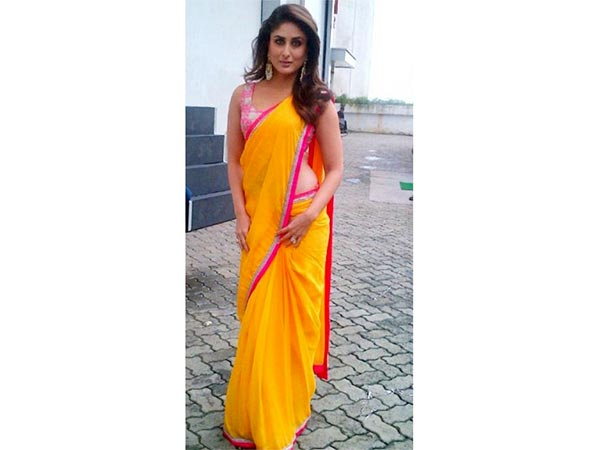 Freshers day saree style