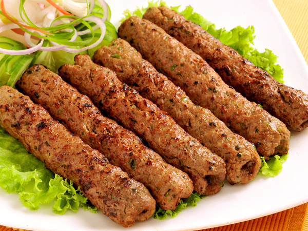 how to prepare mutton seekh kababs