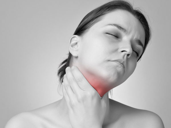 Get relief from sore throat