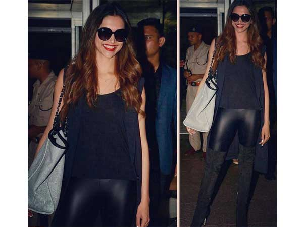 Deepika Padukone Arrives In Mumbai & This Is What She Is Wearing!