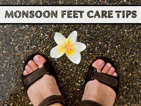 Simple Tips To Take Care Of Feet During Monsoon