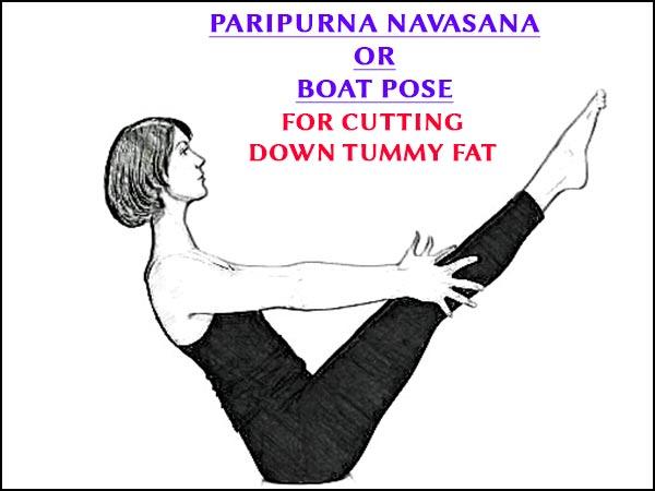 Paripurna Navasana Boat Pose For Cutting Down Tummy Fat