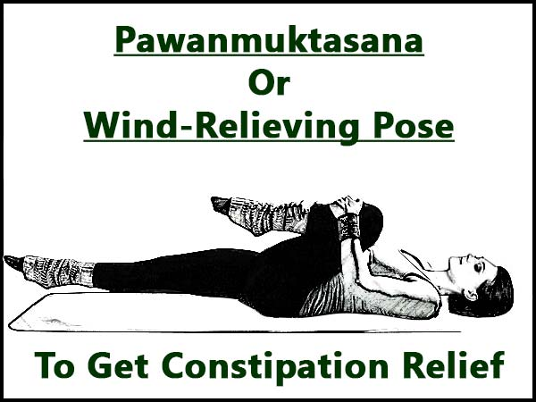 Pawanmuktasana Or Wind-Relieving Pose To Get Constipation Relief