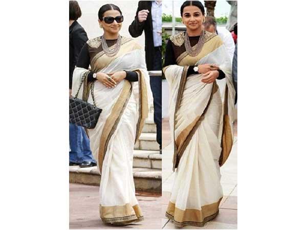 how to look slim in half saree