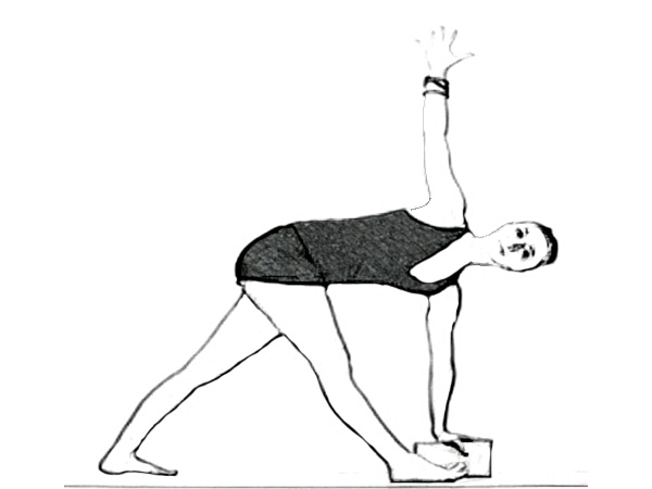Parivrtta Trikonasana (Revolved Triangle Pose) For Stronger Legs