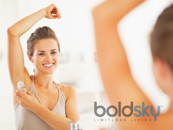 how to lighten dark underarms