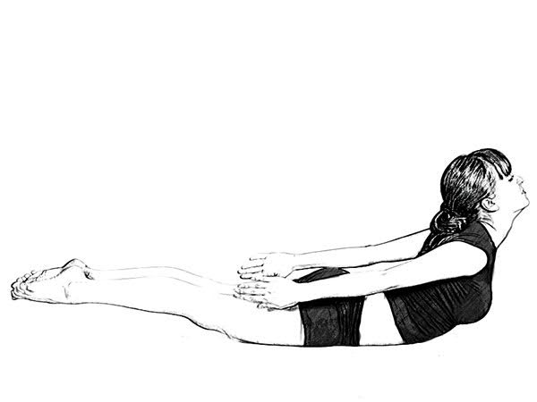 Salabhasana (Locust Pose) For Weight Loss