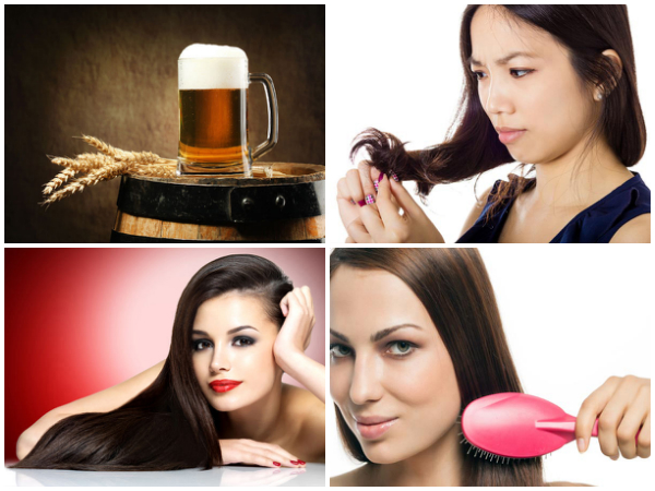 ways to use beer for beautiful hair