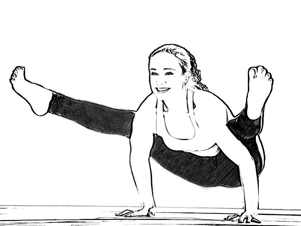 Tittibhasana (Firefly Pose) For Strengthening Arms & Wrists