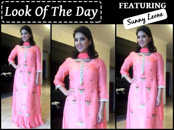 look of the day sunny leone