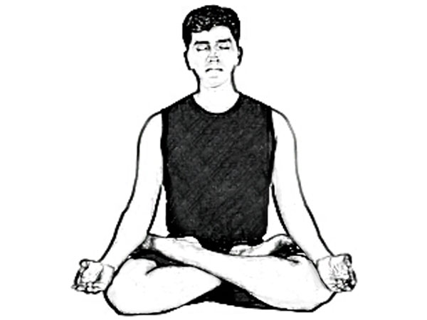 Padmasana To Beat Stress