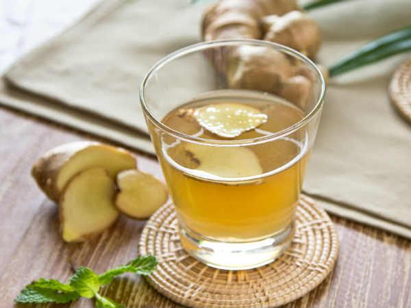 How To Burn That Excess Thigh, Hip & Waist Fat With Ginger Water