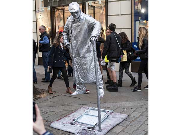 Secret Behind Levitating Street Performers