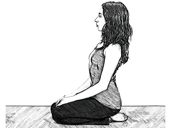 Bharadvajasana (Bharadvaja's twist ) For Lower Back & Neck Pain