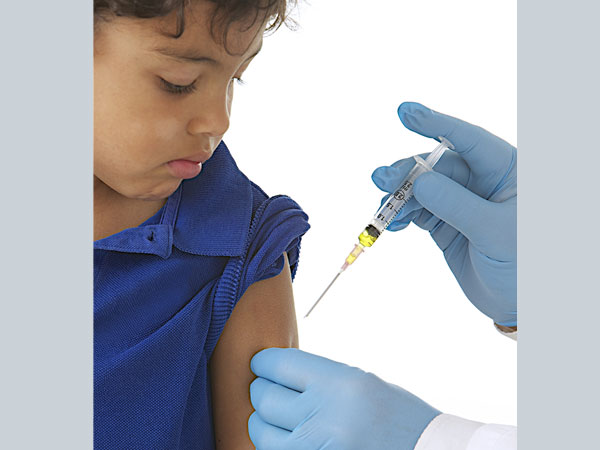 Difference between painless and painful vaccination