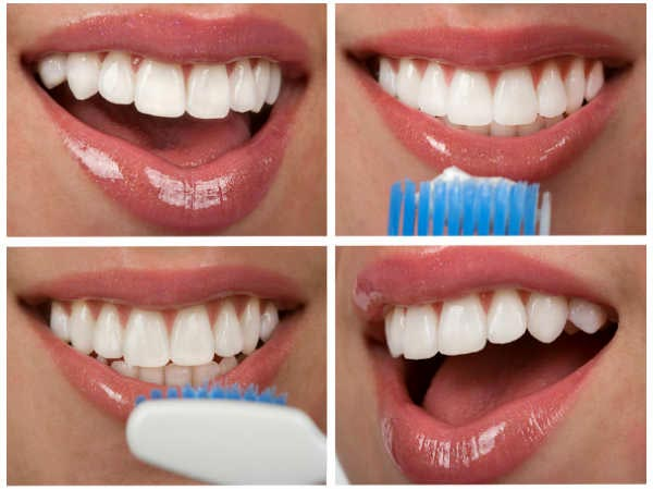 correct way to brush your teeth