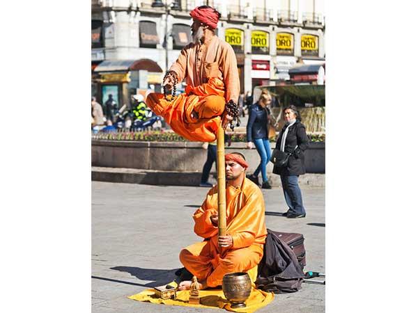 Secret Behind Levitating Street Performers Revealed