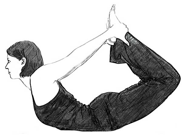 Dhanurasana (Bow Pose) To Relieve Stress