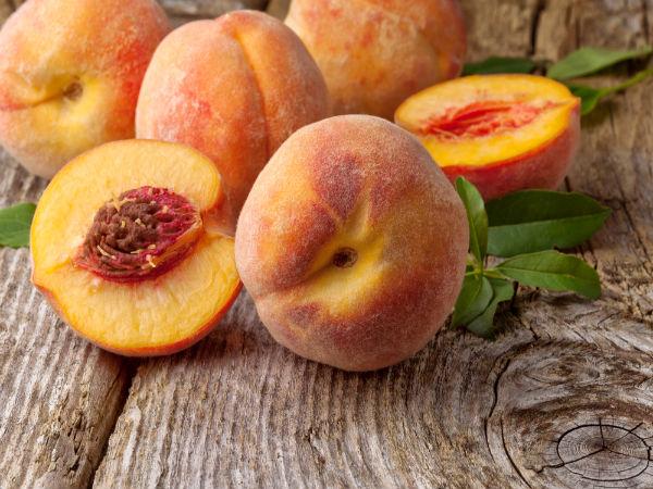 low sugar fruits peach fruit