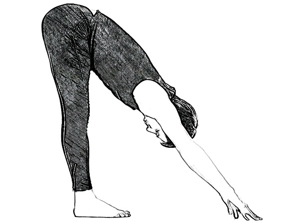 Ardha Uttanasana (Standing Half Forward Bend Pose) To Improve Digestion