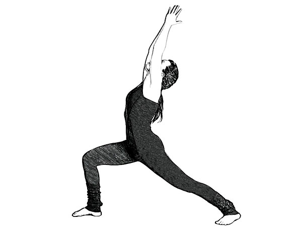 Crescent Pose (High Lunge Variation) To Relieve Joint Stiffness