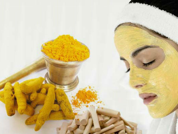 turmeric face packs to get fair at home