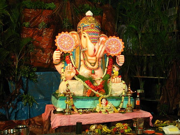 Ganesh Festival Decoration Ideas At Home