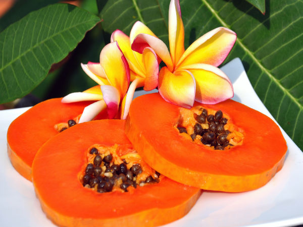 diy papaya and turmeric pack for pigmentation