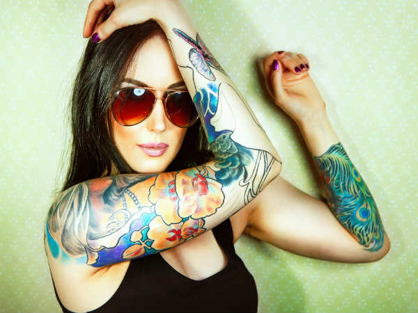 Getting Tattoos In Unhygienic Setting Ups Infection Risk - Research Reveals
